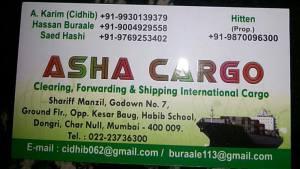 Asha Cargo
